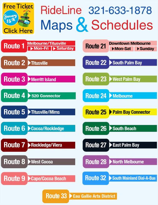 Maps and Schedules